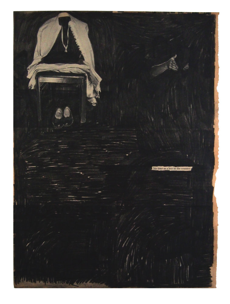 Guy Vording, Black Pages, His time as a boy in the country, 2017